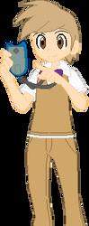 Pokemon Trainer-Boo-Boo by AugieDoggie-Fan-92