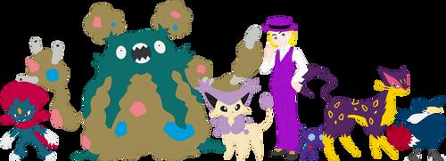 Top Cat Pokemon Team by AugieDoggie-Fan-92
