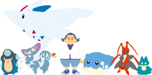 Benny (The Ball) Pokemon Team by AugieDoggie-Fan-92