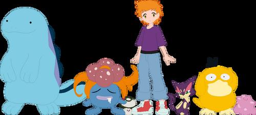 Brain Pokemon Team by AugieDoggie-Fan-92