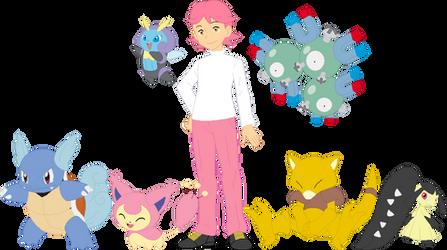 Choo Choo Pokemon Team by AugieDoggie-Fan-92
