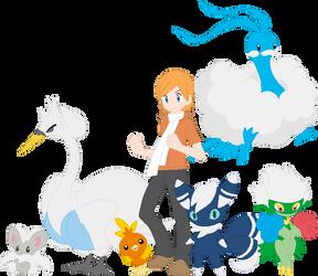 Fancy-Fancy Pokemon Team by AugieDoggie-Fan-92