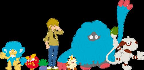 Spook Pokemon Team by AugieDoggie-Fan-92