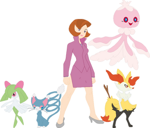 Trixie Pokemon Team by AugieDoggie-Fan-92