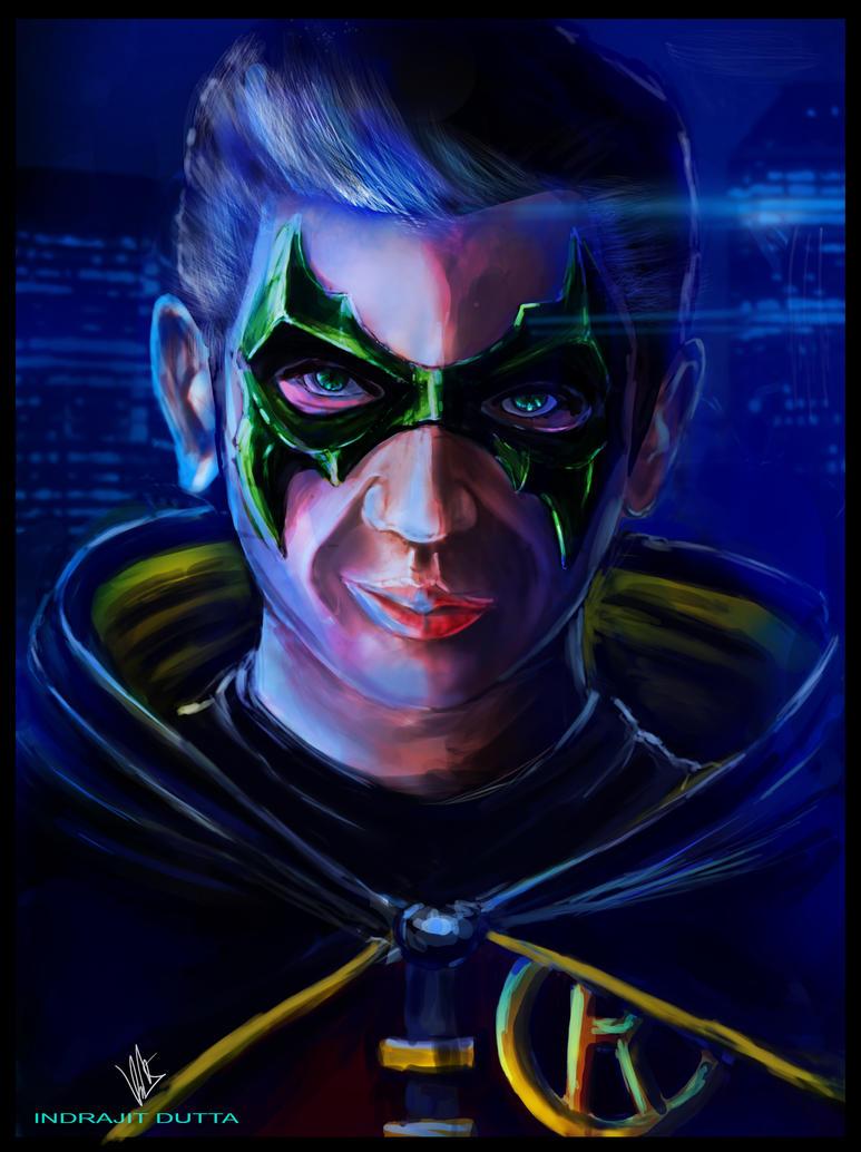 Robin/Damian Wayne by Indrajit03