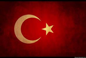 Turkey Grunge Flag by HGurcan