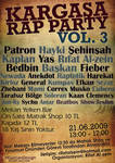 Kargasa Rap Party Vol3 Afis