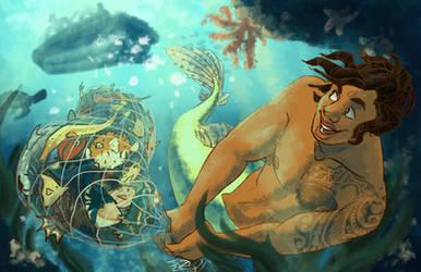 Mermaid Series - Rebellion by sunami56