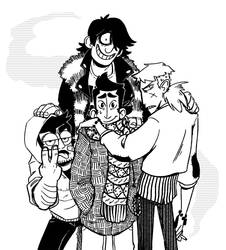 An Upstanding Group of Gentlemen by sunami56