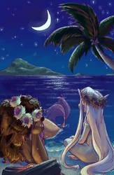 Mermaid Series - Night Glow by sunami56