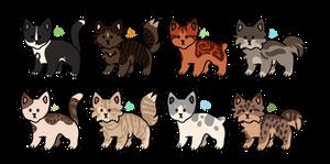 Cheap! Cat Adopts 22 [0/8 CLOSED]