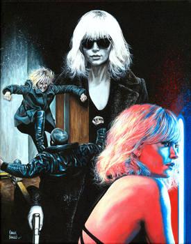 Atomic Blonde Fan Art Contest
