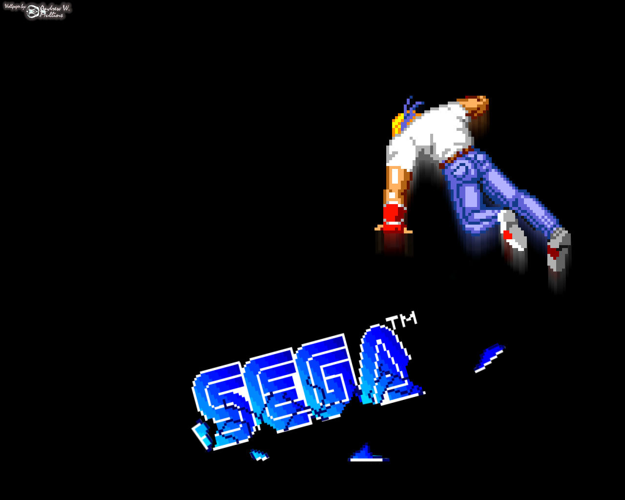 Axel SEGA Slam by theland10