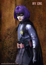 Hit Girl fanart