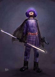 Hit Girl quick sketch