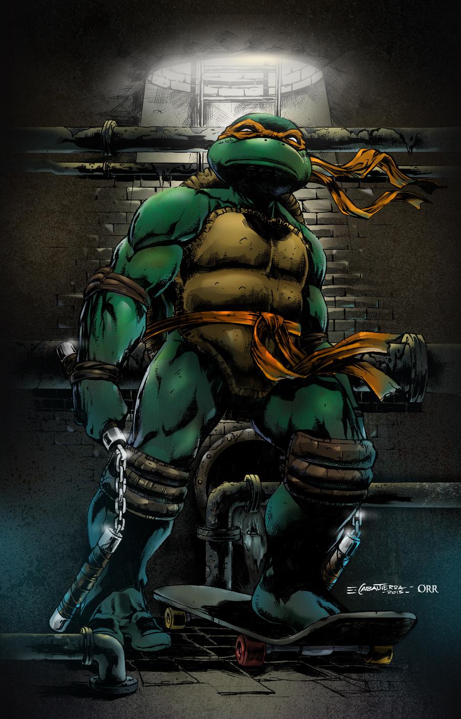 TMNT Michelangelo by scroll142