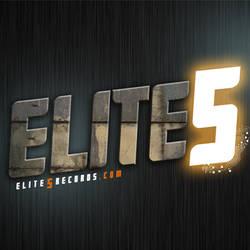 Elite 5 Records Logo