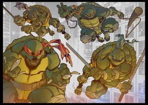 Teenage Mutant Ninja Turtles - Night Raid