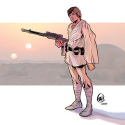 Luke Skywalker Tatooine Colors