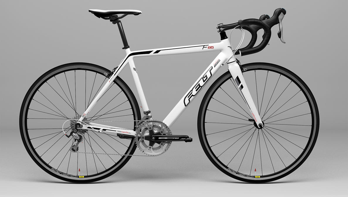Bike 3d Model d Model of Felt Road Bike by