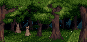 Llama's Forest by Pukahuna