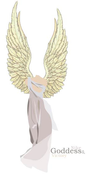 Nike goddess of victory by siyuri on DeviantArt