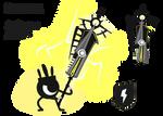 Hatapon's Blade Lightning