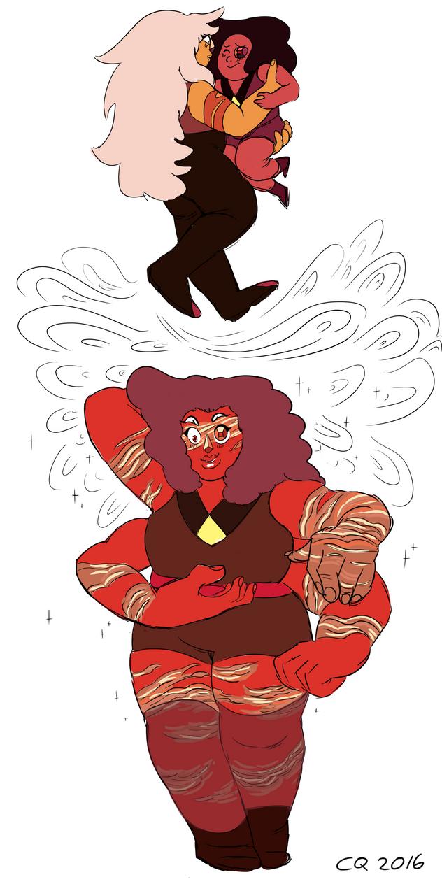 Red Jasper by lenaletras