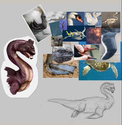 Nessie as a member of the Cygnus Genus by Argema-Brassingtonei
