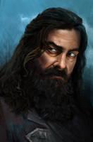 Captain Edward Teach, aka Blackbeard by ArtOfBenG