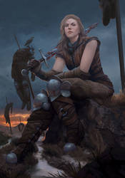 Renfri, 'Shrike', Gwent Art Contest