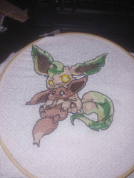 Eevee and Leafeon Finally Finished!