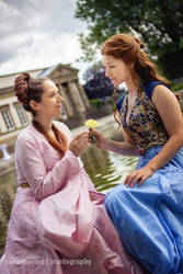 Margaery and Sansa by blue-potions