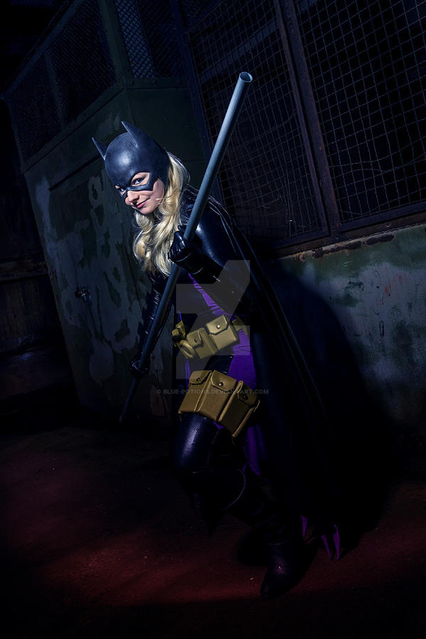 The Batgirl by blue-potions