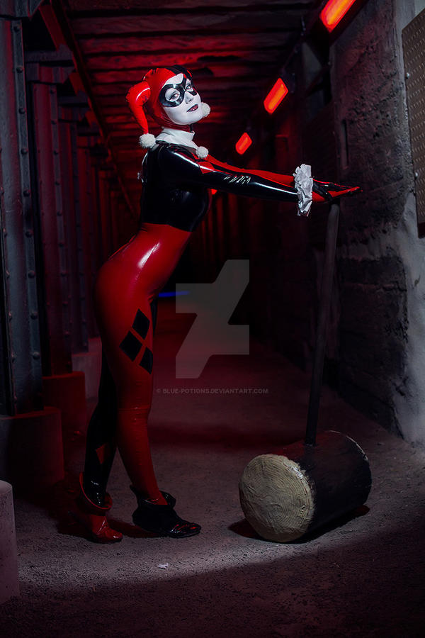 The Harley Quinn by blue-potions