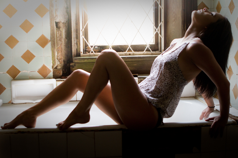 Backlit bath by PeterTBexley