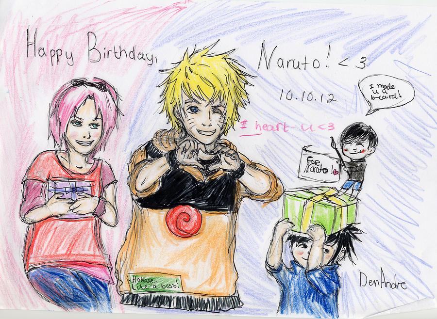 Naruto-kuns birtday! by DenAndre