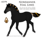 #A2194 Foal design