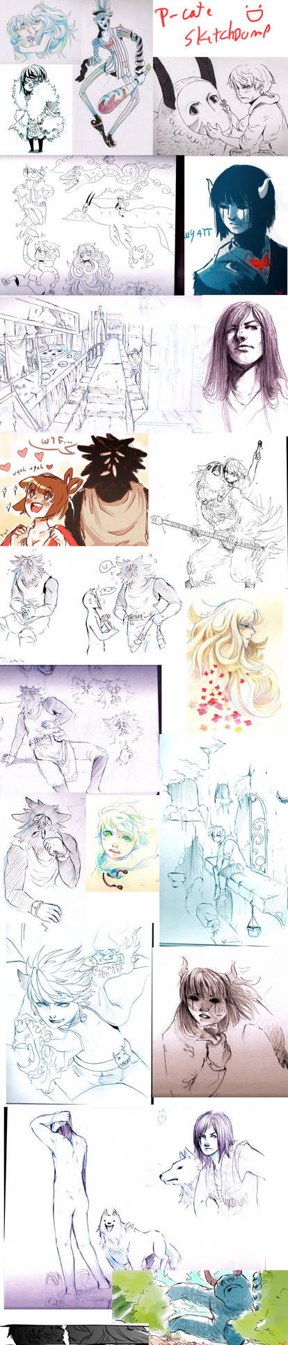 sketchdump 4 by P-cate