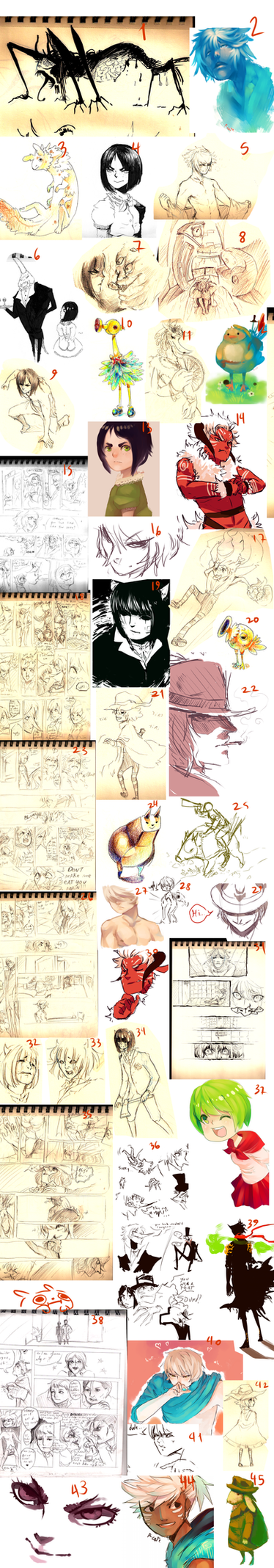 sketchdump 7-HAGDFBJSD by P-cate