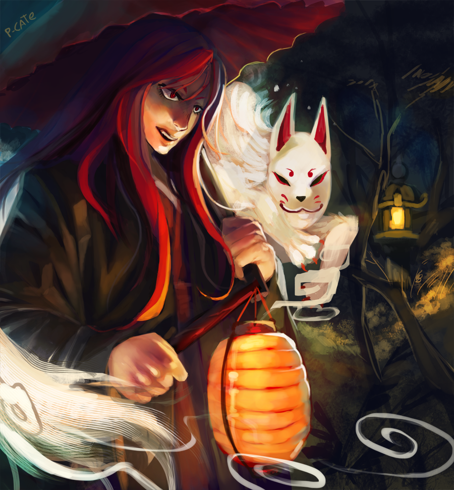Commission-Kitsune by P-cate