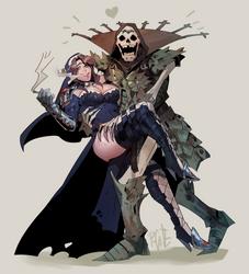 Happy couple - Commission