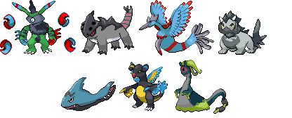 Some Random Sprites by OmegaCrafter17