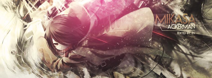 Mikasa Ackerman tlc by Redeye27
