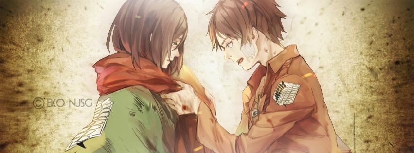 Eren love mikasa by redeye27 on deviantart - Eren and mikasa wallpaper ...