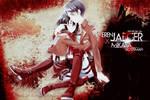 eren jaeger X Mikasa Ackerman : wallpaper