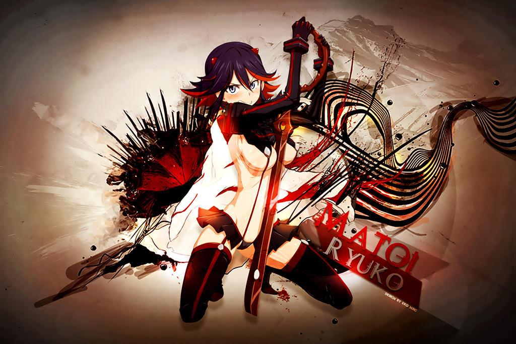 Matoi Ryuko wallpaper by Redeye27