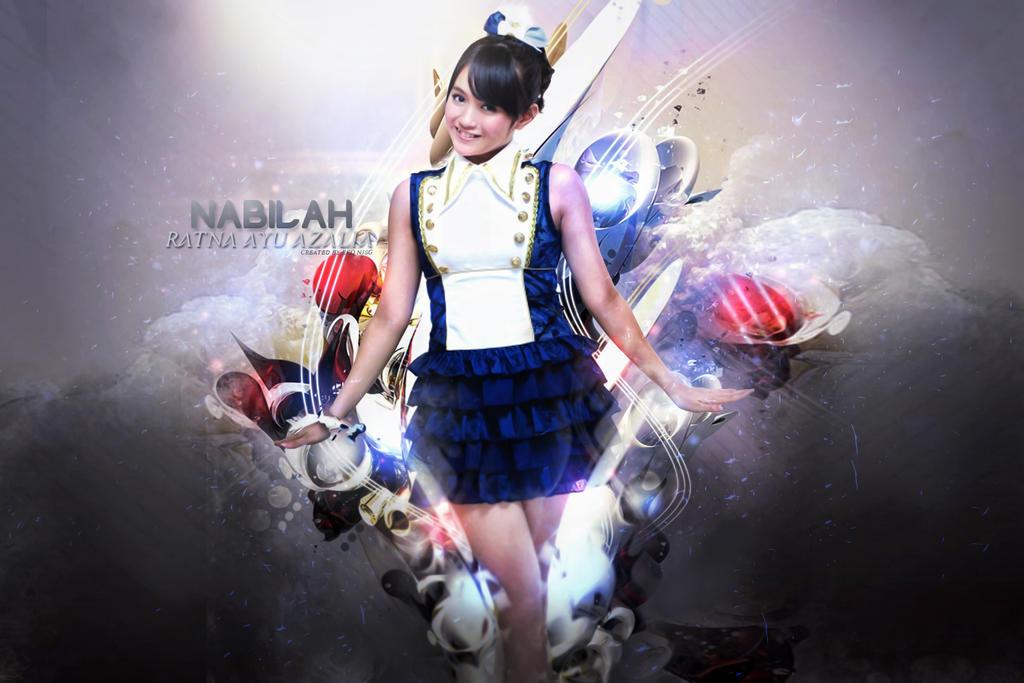 wallpaper nabilah JKT48 by  Nabilah Jkt48 Wallpaper