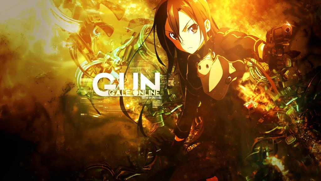 Gun Gale Online Wallpaper by Redeye27 on DeviantArt
