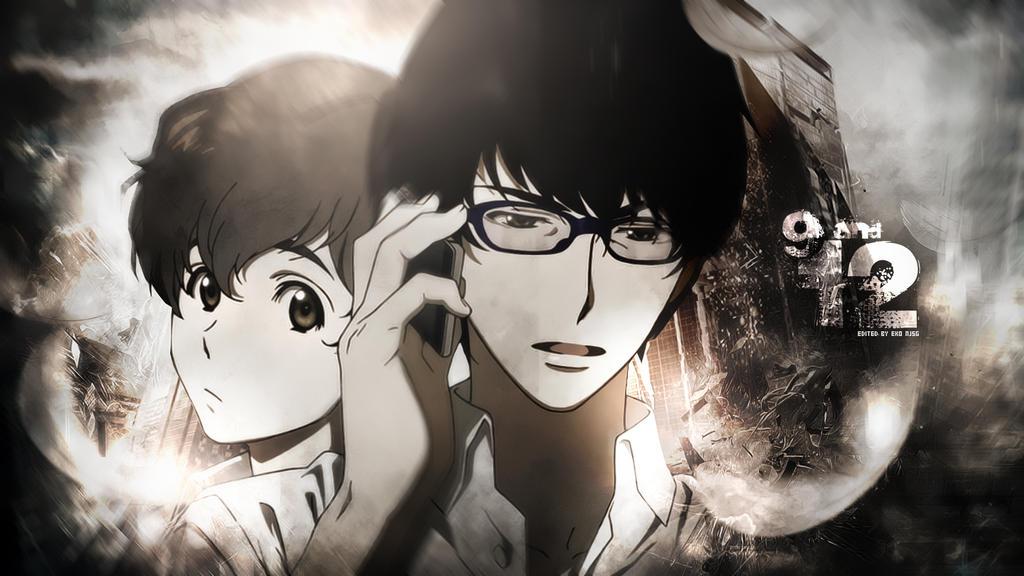 1440x900 обои эхо террора, zankyo no terror, сериал, япония, синичиро ватанабэ, кадзуто наказава